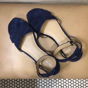 Lands' End Blue Sandals